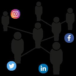 reseau social relation client